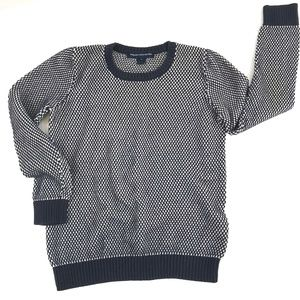 FCUK French Connection Cotton Textured Sweater L